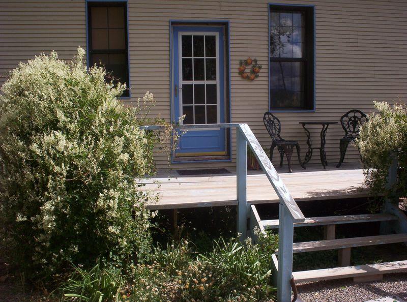 Back porch autumn