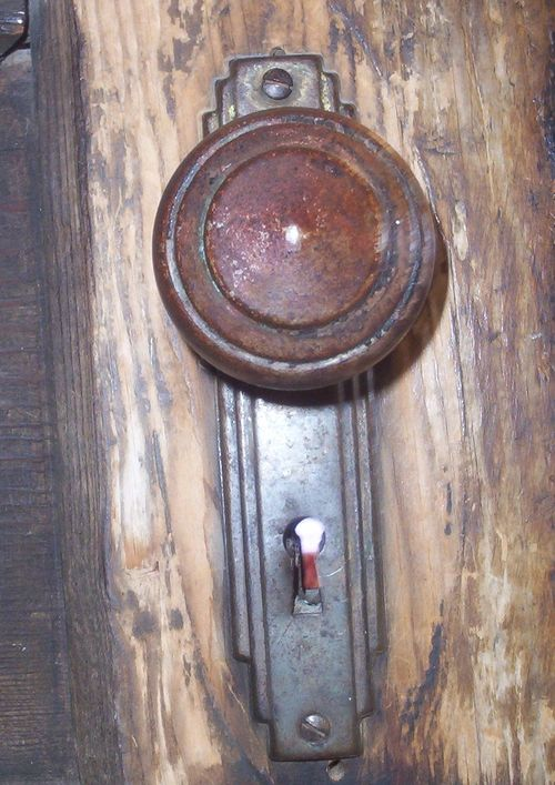 Old kitchen door