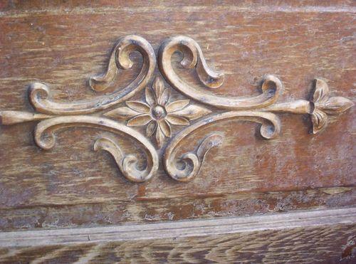Daisy door detail