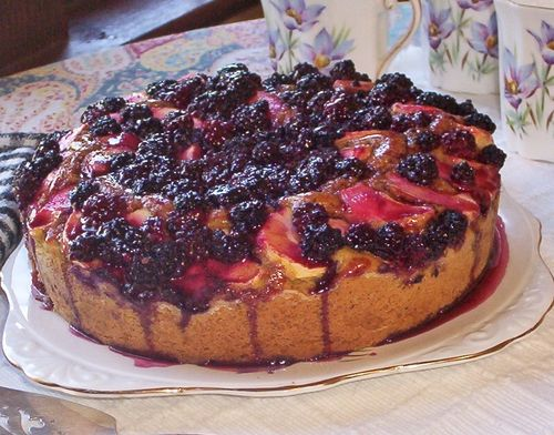 Blackberry apple cake best