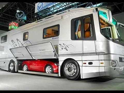 Rv with car