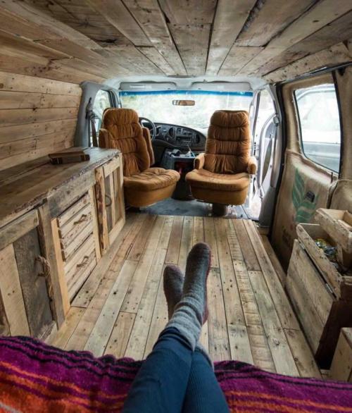 Van life inside 3