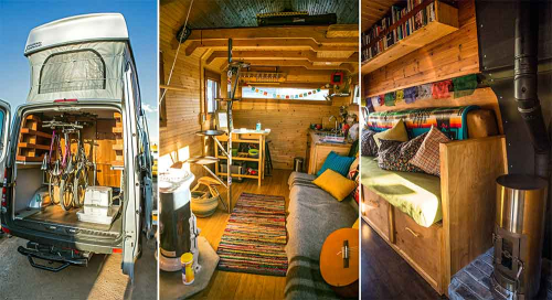 Van-life inside