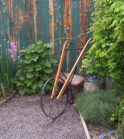 The Kitchen Garden High Wheel Cultivator